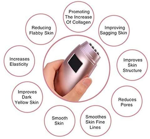 Beauty Device Facial Rejuvenation Skin Firming Wrinkles Removal Beauty Machine Face Scrub Ideal for Salon and Home Use